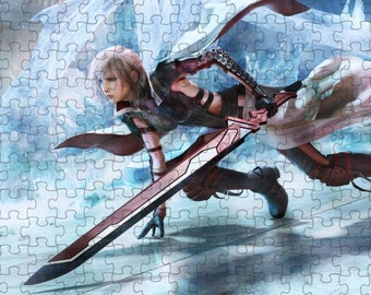 Final Fantasy XIII Lightning Returns 3 A4 Puzzle - 120 Pieces