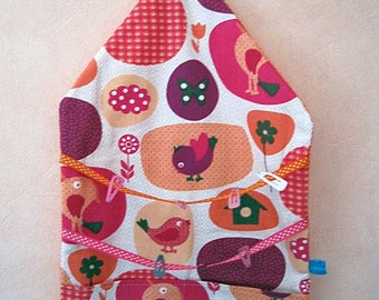 Origami wall cotton