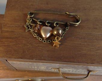 Bronze brooch