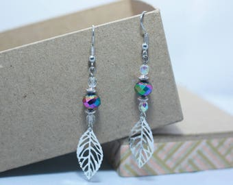 Filigree earrings and beads