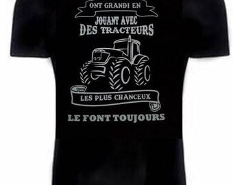 black t-shirt for farmer or not!