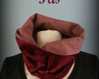 Scarf - Snood Bordeaux Chic