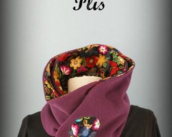 Flower Power Choker Snood scarf