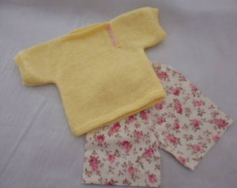 All shorts and t shirt 3 months yellow and pink