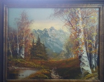 Sureal landscape by Wallace. This is a Gorgeous painting