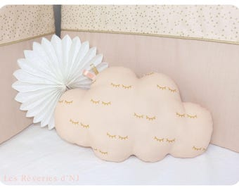 "Cloud pillow ""Close your eyes"""