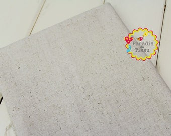 1 x linen fabric natural 50x70cm sewing furniture