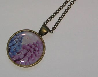 25mm bronze cabochon necklace jewelry