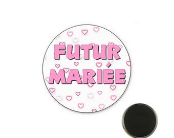 Magnet future married - bachelorette party 32 mm