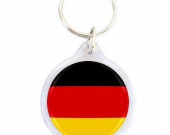Germany - Ø40mm flag key chain