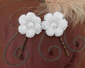 flower clips for hair