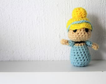 Cinderella Disney Crochet Amigurumi Plushie Doll - Made to Order