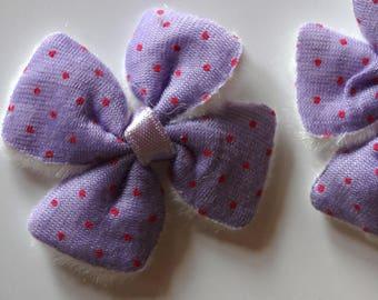 Pretty fabric bowtie