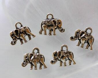 metal elephant charm