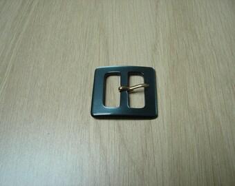 blue grey loop Pearl belt