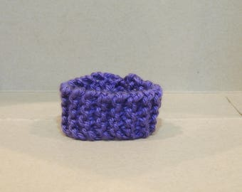 Gorgeous Purple Knitted Bracelet