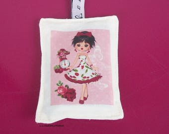 bag of lavender with miss cherry image