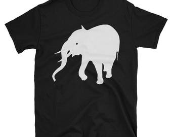 Metal Gear Online Revival MGO MGO2R Elephant Emblem Animal Rank Unisex T-shirt.