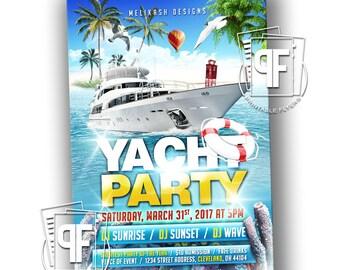 Boat Invitation Etsy - Cruise ship party