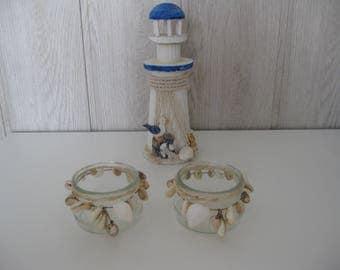 lanterns duo glass shells