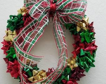Gift Bow Wreath