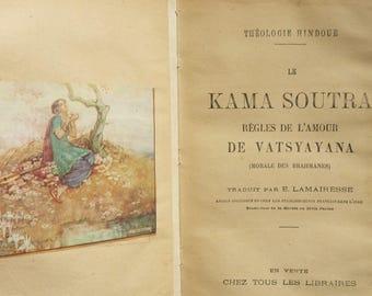 Antique book * the Kama Sutra * theology Hindu 1926