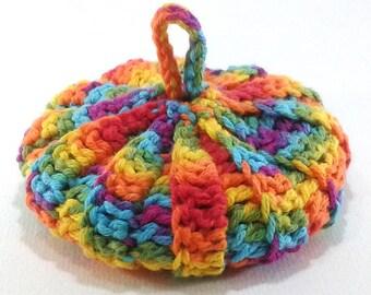 Cotton/lyocell 8.5 cm Rainbow bayadere Tawashi