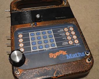 Circuit Bent Speak and Math - Texas Instruments