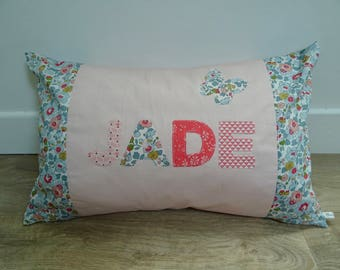 "Pillows with custom ""Jade"""