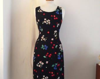 90's cherry dress