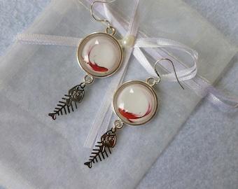 """""""Koi"""" earrings"""