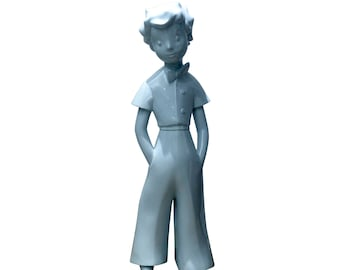 Official statue The Little Prince (Le Petit Prince) - Blue planet