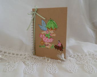 """Journal block note on the theme """"fairy"""""""