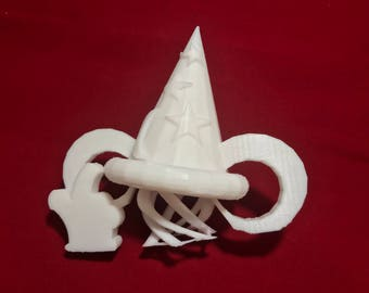 Mickey's Sorcerer's Hat - Decor - Hollywood Studios - DIY - Cake Topper