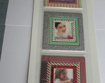 Photo frames X 9 in chipboard