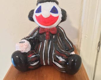 Creepy Clown Piggy Bank