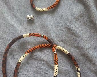 Kit for making wax cord bracelet