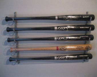 5bat Rack Metal - Baseball Bat Display Rack