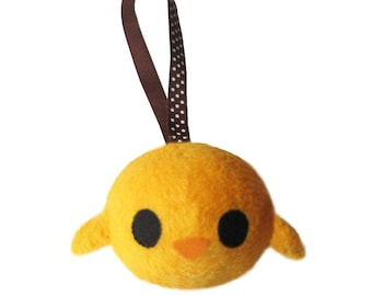 Keychain hand-made little chick