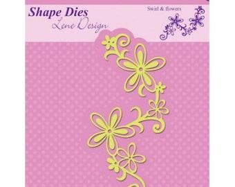 The Nellie Snellen Shape Die Swirl & new flowers