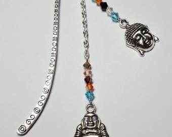 "Small ""Zen"" multicolor Crystal bookmark"