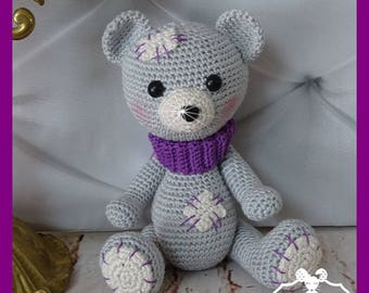 Bear, Amigurumi crochet plush