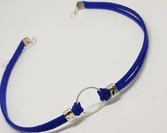 Royal Blue choker necklace