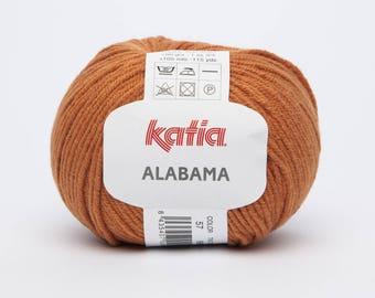 ALABAMA by Katia 57 rust color