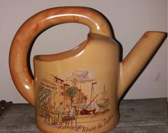 Vintage French Ceramic Pastis Water Jug/ Pitcher, Retro,Bar,Barware,Gift,Pottery, Water Jug
