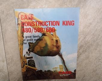 Case Construction King 480/580/680 Literature