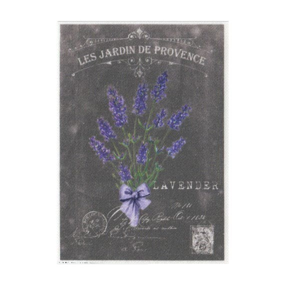 """Applied fusible - Collection """"Lavender background chalk"""" AT404-7"""