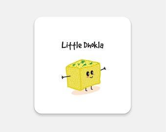 Little Dhokla Fridge Magnet