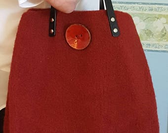 VB BAGS; hand made bags; purses; felted bags