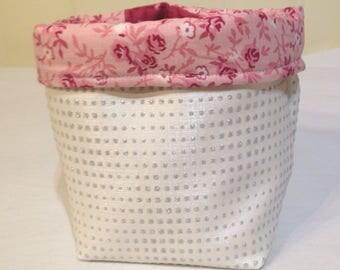 very girly storage basket